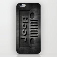Black Jeep iPhone & iPod Skin