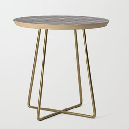 Boho Baby // Middle Eastern Metallic // Scorpion Symbol + Geometric Floral in Charcoal Side Table