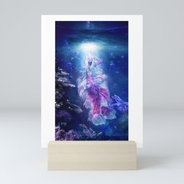 The Mermaid's Encounter Mini Art Print