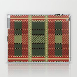 Holiday Plaid Laptop & iPad Skin