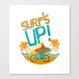 Surf UP!!! Canvas Print
