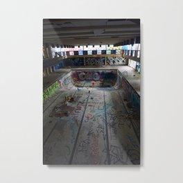 Skate Junk Metal Print
