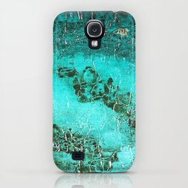 Abstract Turquoise Art iPhone Case