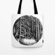 Wall of forest Tote Bag