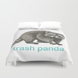 Trash Panda Duvet Cover