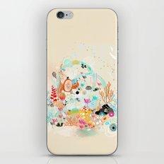 under the water wonderland iPhone & iPod Skin