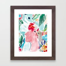 Mitchell the Cockatoo Framed Art Print