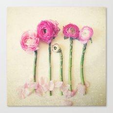 Hello Little Flowers Canvas Print