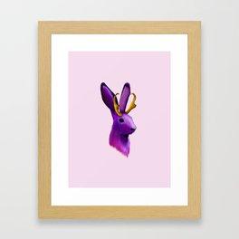 The Jackelope Framed Art Print