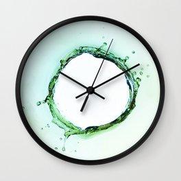 Water Splash Wall Clock