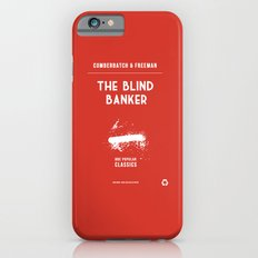 BBC Sherlock The Blind Banker Minimalist Poster Slim Case iPhone 6s