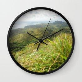 MT. Lam Lam, Guam Wall Clock