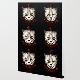 cat clown kittywise vector art Wallpaper