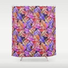 Placer precious stones gems . Shower Curtain