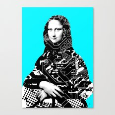 Mona Lisa Platina 4 Canvas Print