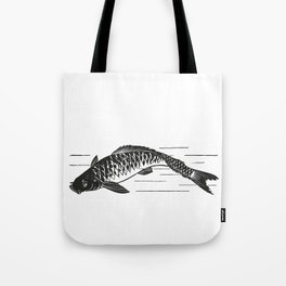 Koi Japanese fish Tote Bag
