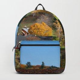Sleepy Hollow Farm Vermont Panorama Backpack