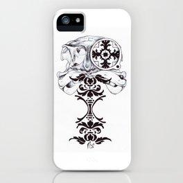 Under-dressed iPhone Case