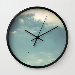 as the wind blows Wall Clock