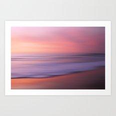 Soft Blushing Sky Art Print