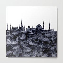 Stockholm Skyline Sweden Metal Print