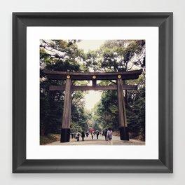 Yoyogi Park, Tokyo Framed Art Print
