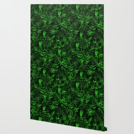 Abstract Botanical Garden IV Wallpaper
