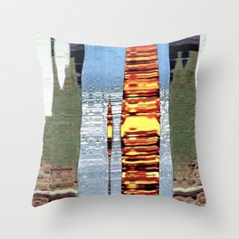 memory reel Throw Pillow
