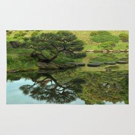 Reflective Garden Rug