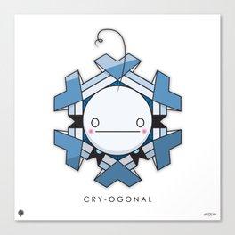 CRY-OGONAL Canvas Print