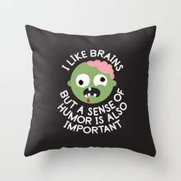 Of Corpse Throw Pillow