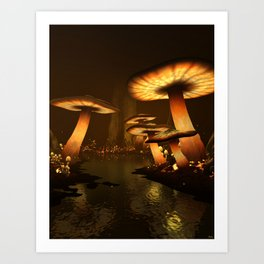 Enchanted Forest - Meltdown Art Print