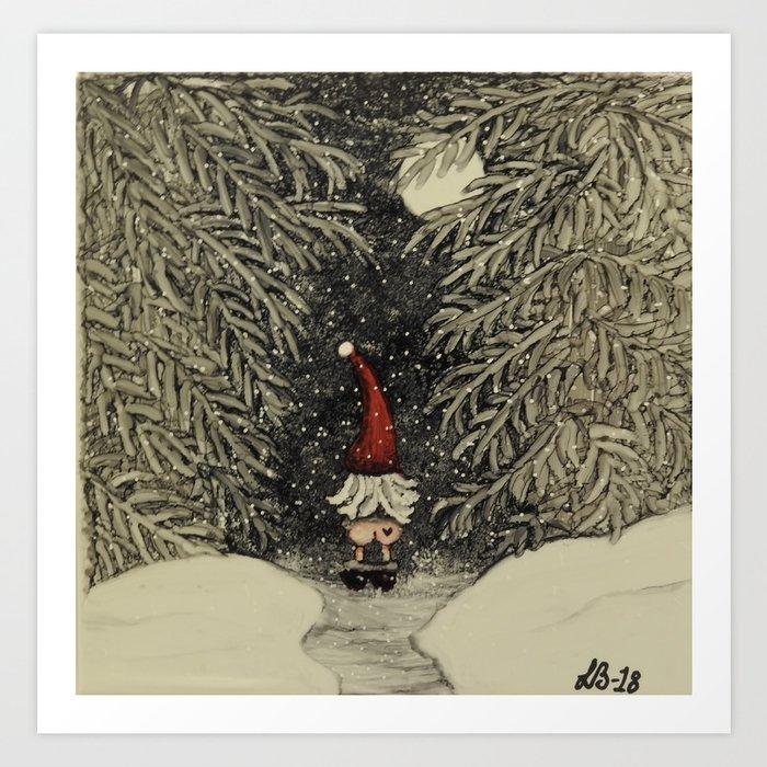 """""""Tomten Elmer"""" call of nature. Art Print"""