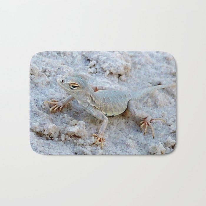 Ghost Lizard Bath Mat By Thehouseofvon Society6