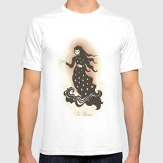 La Llorona MEDIUM White Mens Fitted Tee
