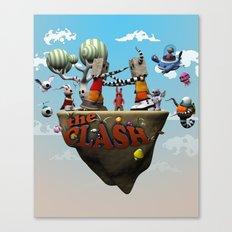 The clash Canvas Print