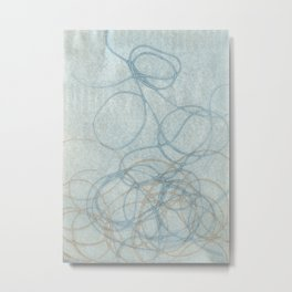 Blue Nest 2 Metal Print