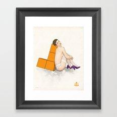 Tetris No.1 Framed Art Print