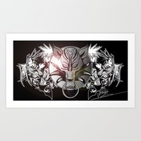 final fantasy Art Prints featuring Final Fantasy by MatthewTew