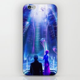 Ready Player One inspired | Painting Poster | CLUB SCENE | PRINTS | #M47 iPhone Skin