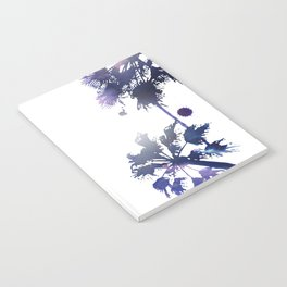 Sunset Palm Trees Notebook