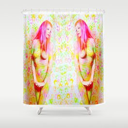 Music is the Answer Shower Curtain