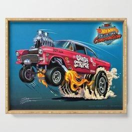 Hot Wheels Candy Striper 55 Gasser Poster Serving Tray