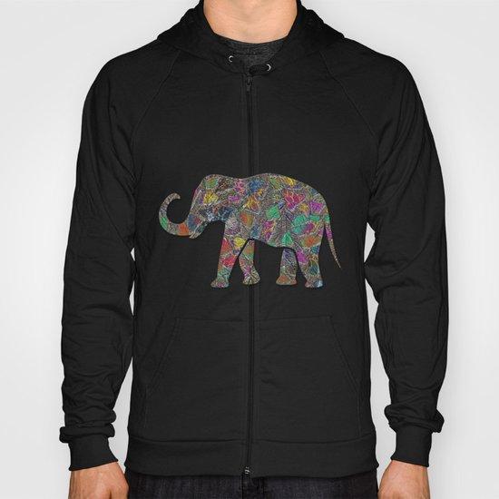 Animal Mosaic - The Elephant Hoody
