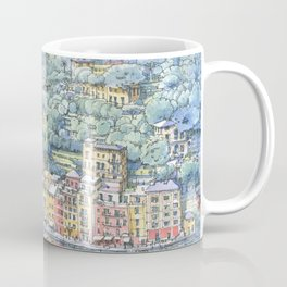 Portofino dal mare Coffee Mug