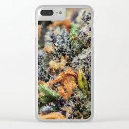 Deep Chunk Close Up Clear iPhone Case