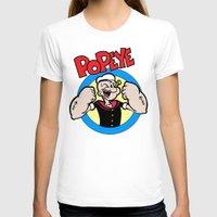 popeye T-shirts featuring Popeye by idaspark