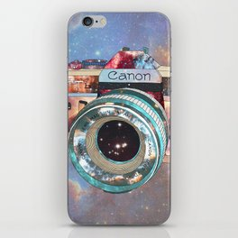 SPACE CAN0N iPhone Skin