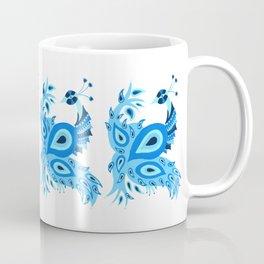 Peacock – Ice Blue Palette Coffee Mug