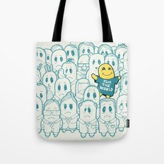 Shining In Shadows Tote Bag